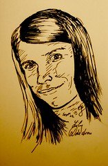 Portrait linda Dendron by Sketchmanni