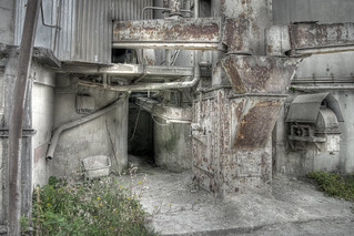 Abandoned Concrete Works | by atomhirsch