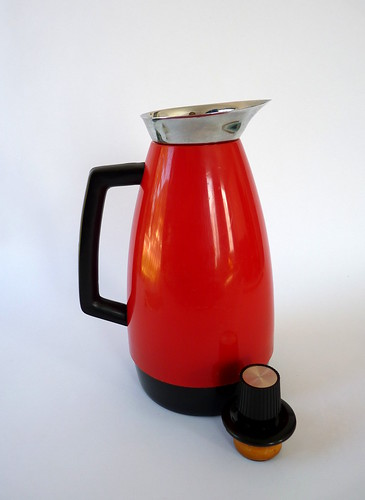 Vintage Red & Black Thermos Jug | by Fox & Thomas