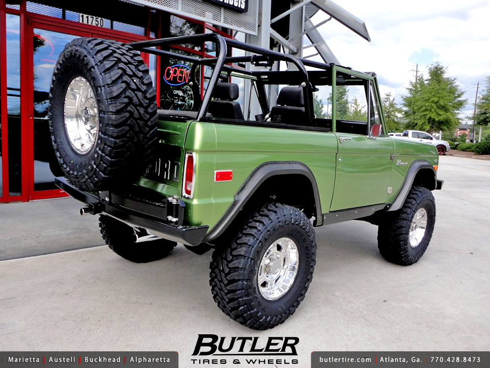 The New Ford Bronco >> 1973 Ford Bronco with 16in Pro Comp 8089 Wheels | Additional… | Flickr