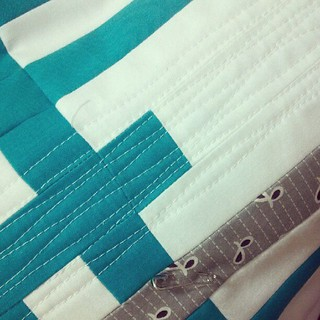 a little quilting this morning. | by canoeridgecreations