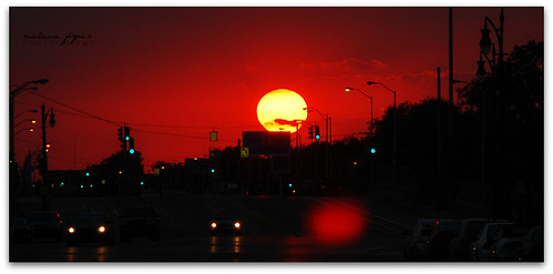 Detroit City Sunset | by Malena †