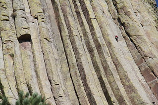 Free Climbing Devils Tower | by lhboudreau