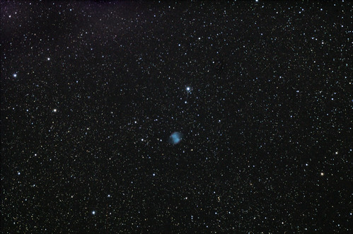 M27 - Dumbbell Nebula Widefield on 9/20/12 | by FlintstoneStargazer