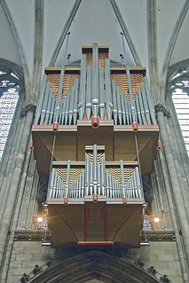 Swallow's nest organ, Cologne cathedral | by NRG Photos