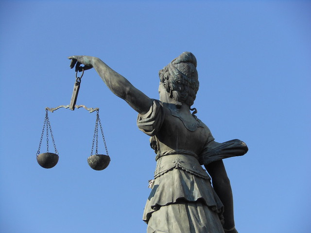Scales of Justice - Frankfurt Version