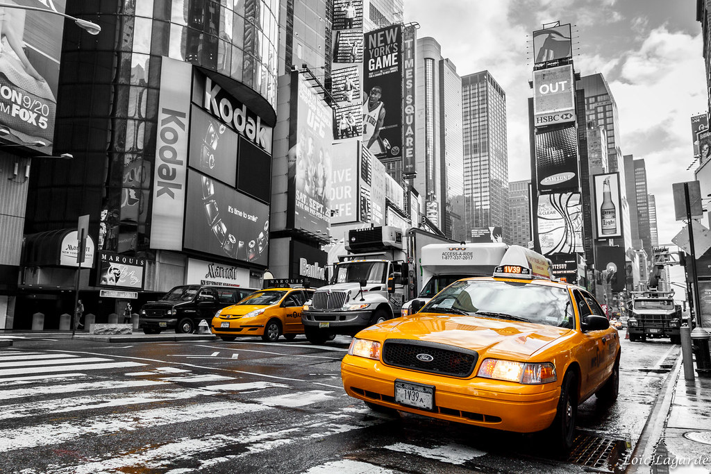 Yellow cab time square my website my flickr my for Schuhschrank yellow cab