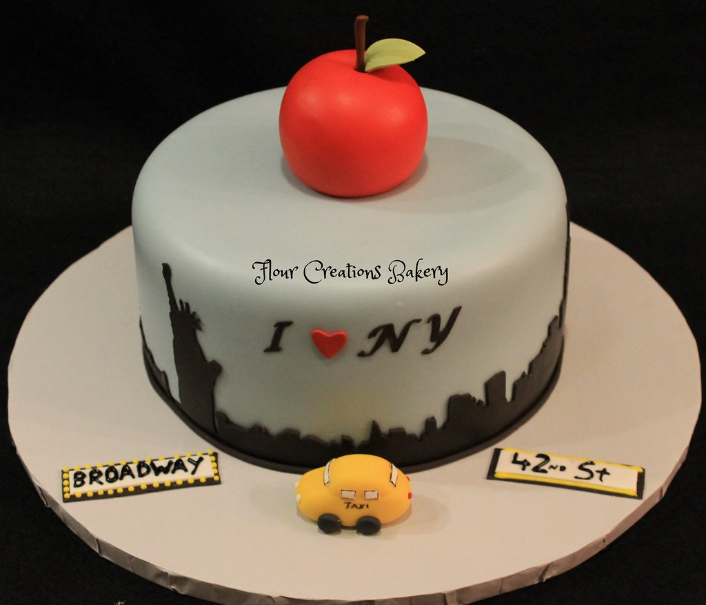 New York City Birthday Cake