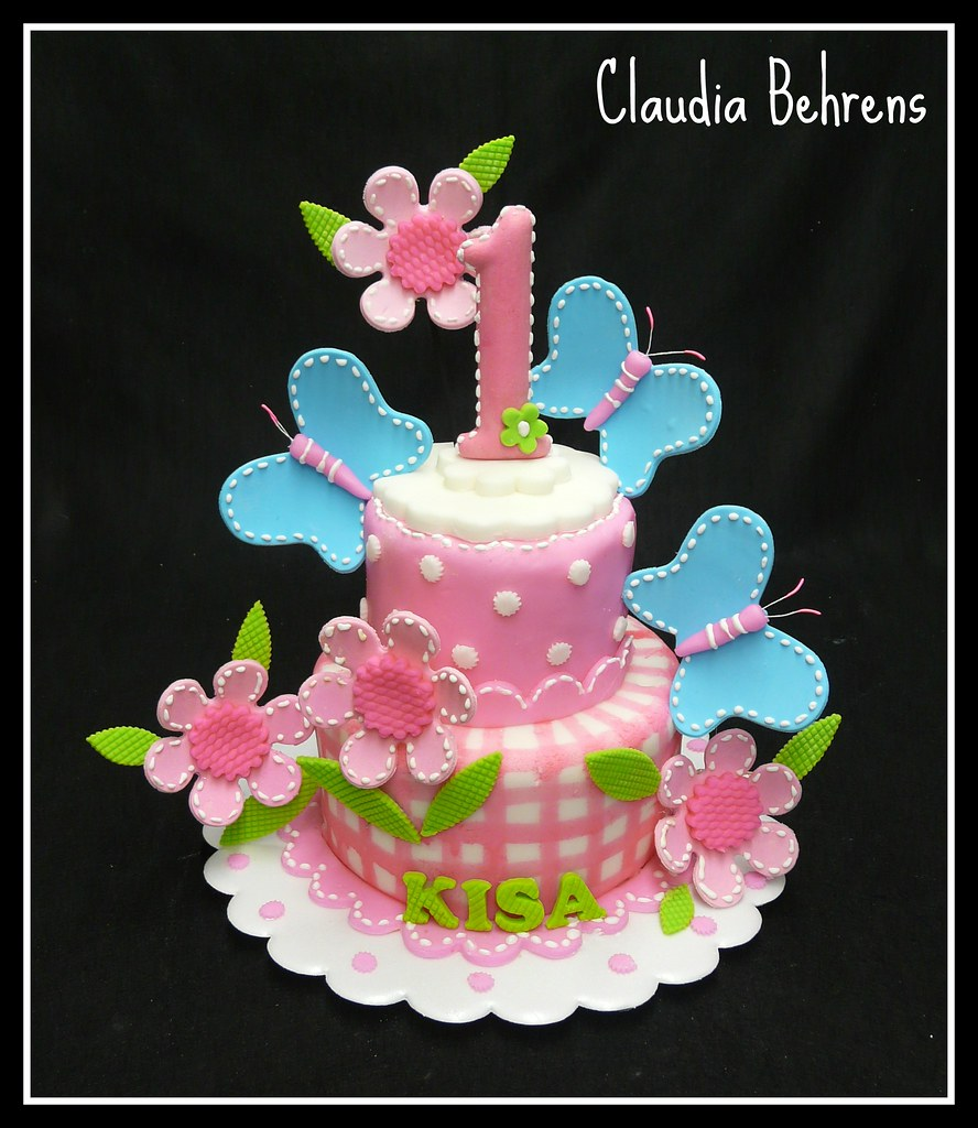 Butterfly Cake Pan Decorating Ideas : butterfly cake kisa - claudia behrens claudia behrens ...