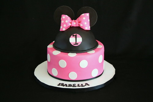 Minnie Mouse Cake Topper Decoration Kit