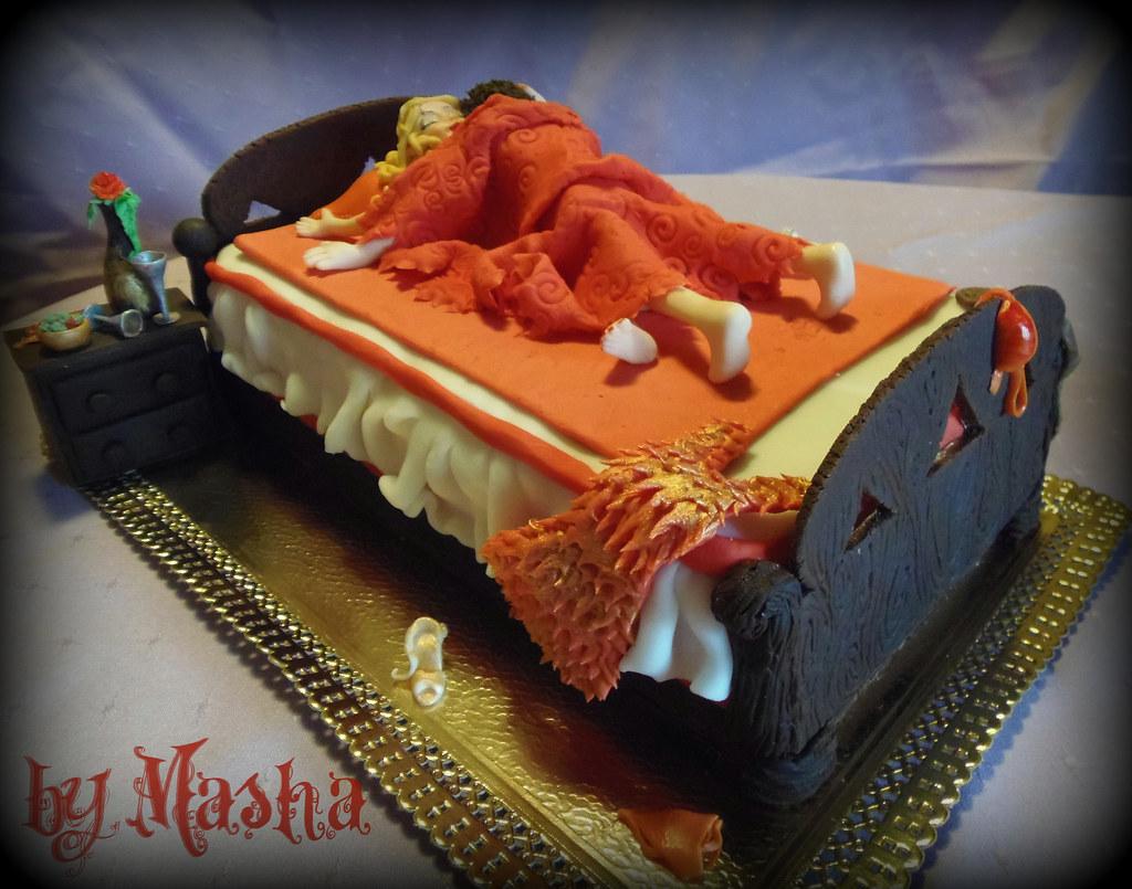 Backyard Wedding Cake Ideas