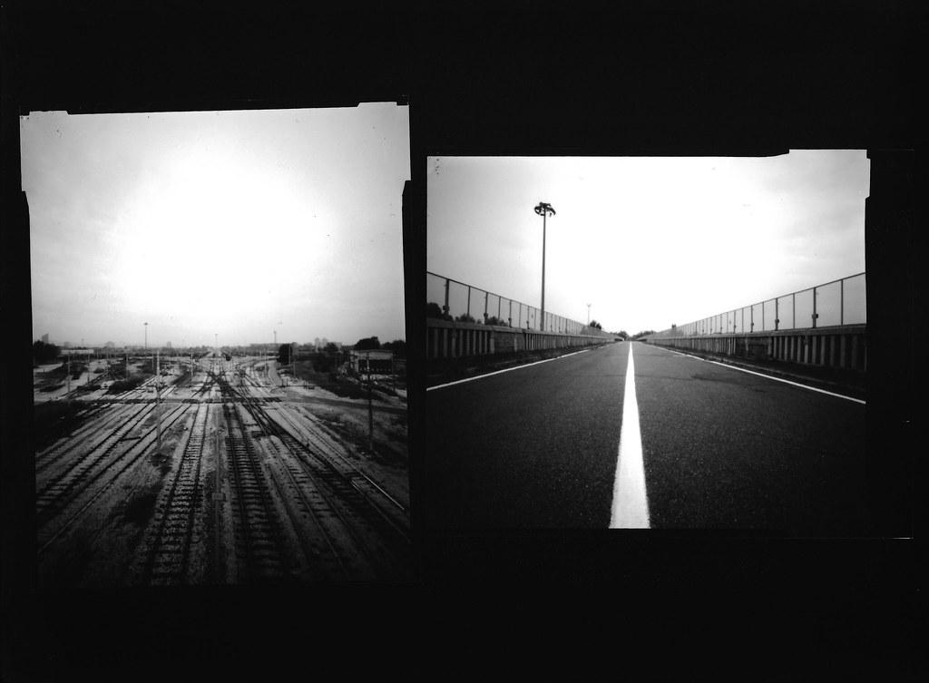 HARMAN TiTAN Pinhole Camera Ilford Delta 100 10x12 Scan f… | Flickr