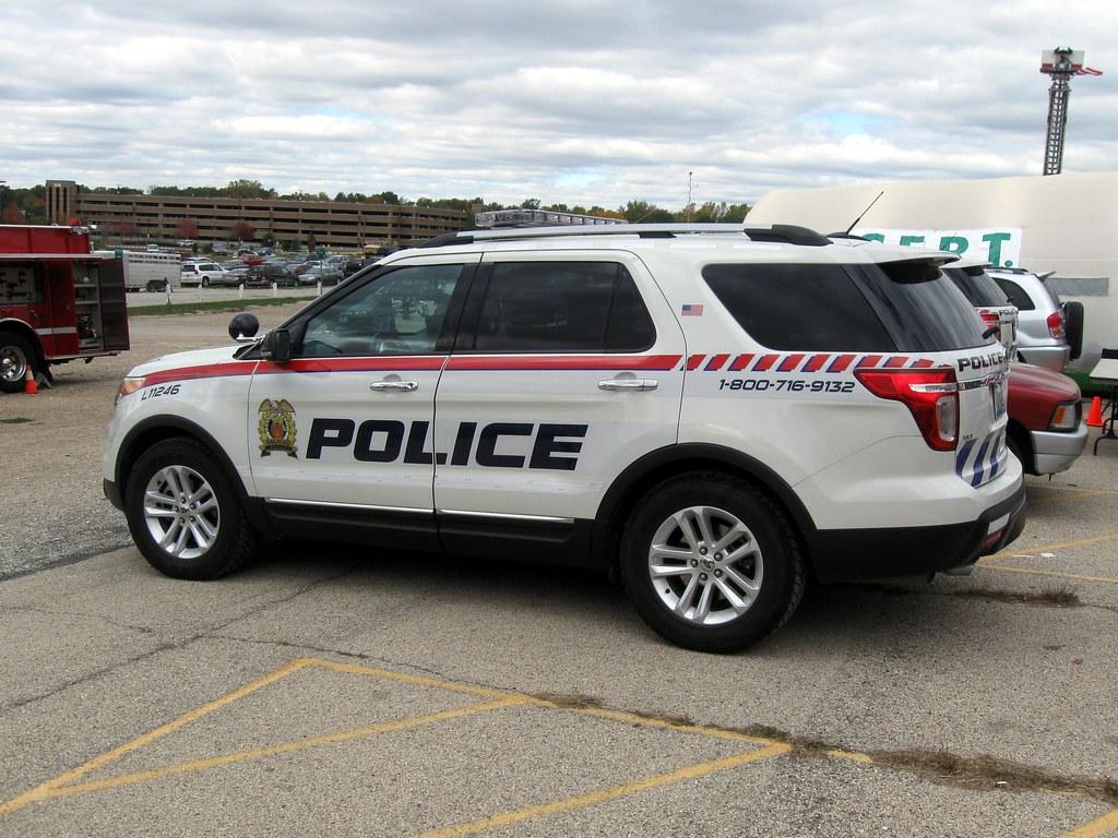 Canada Canadian Pacific Railway Police Service Car