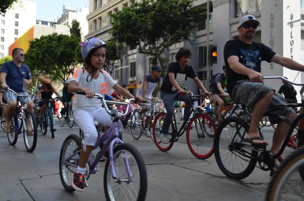 Ciclavia 2012 >> CicLAvia 2012, Los Angeles | CicLAvia 2012, car-free bicycle… | Flickr