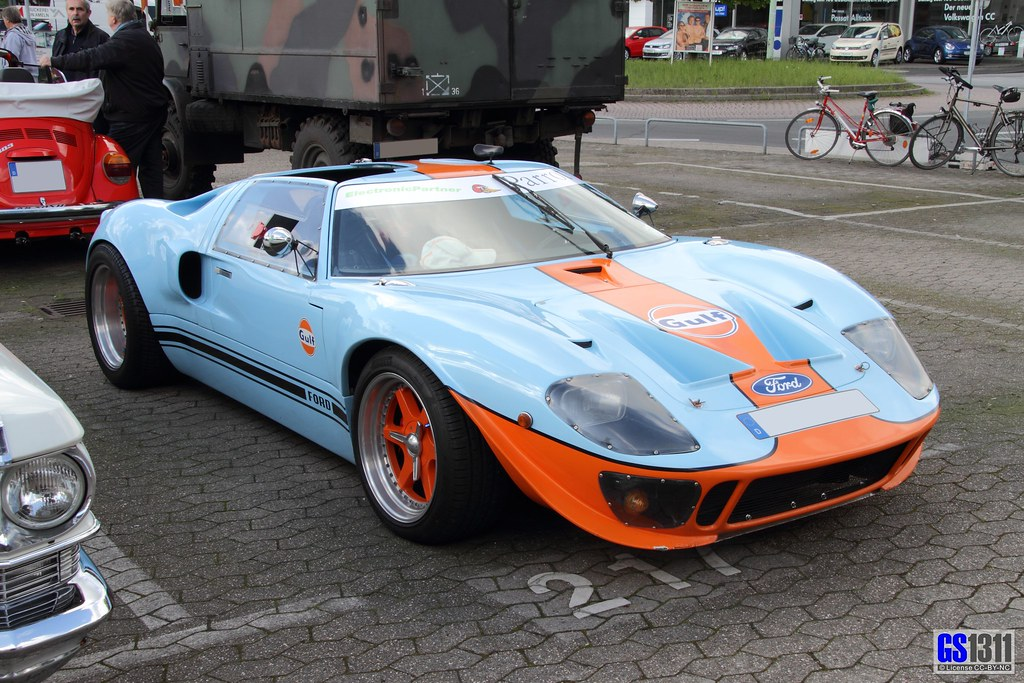 1964 1969 Ford Gt40 The Ford Gt40 Is A High
