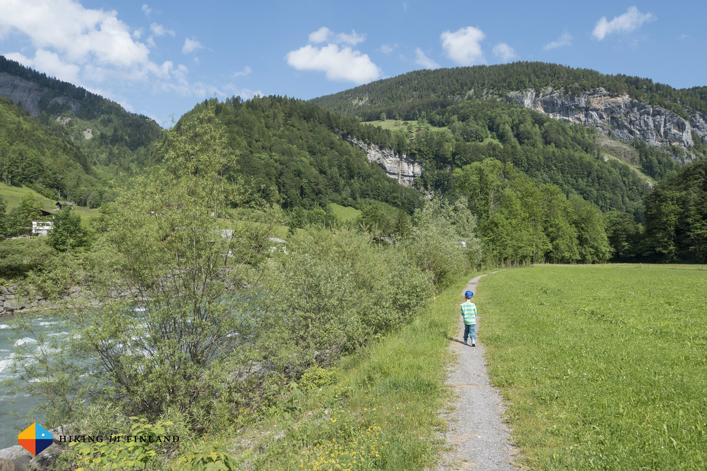Hiking along the Bregenzer Ache