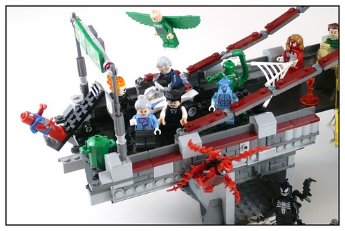 76057 Spider-Man Web Warriors Real Ultimate Bridge Battle 83