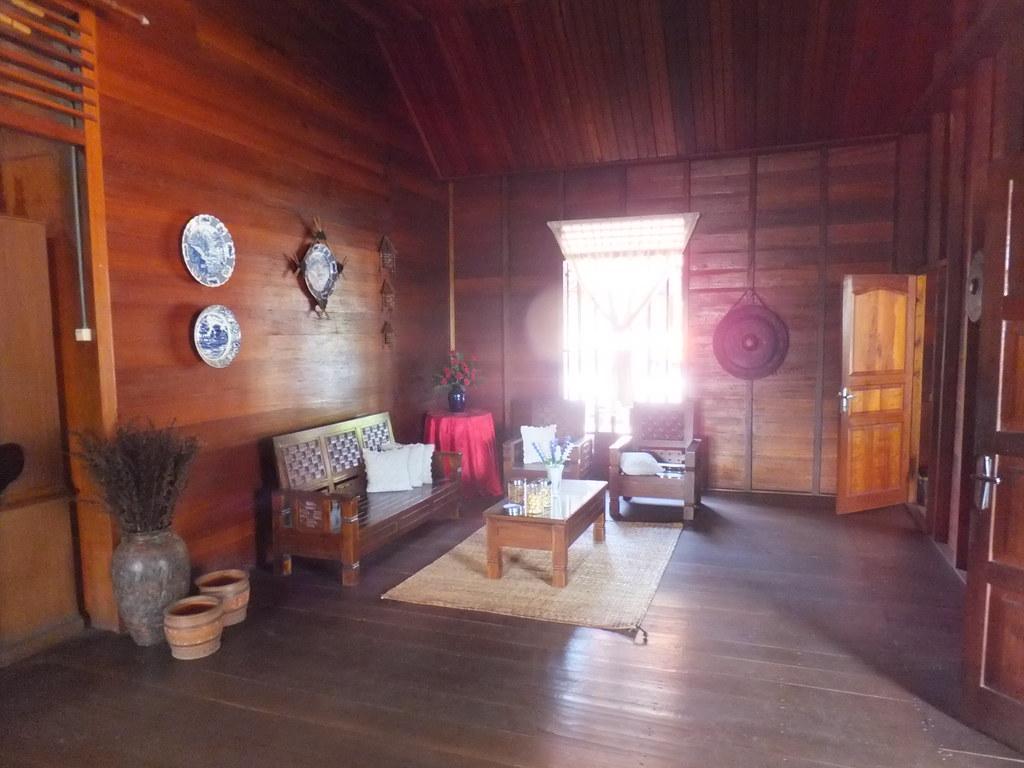 Ruang Tamu Rumah Desa Ruang