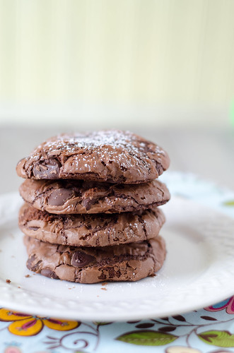Chocolate Chip Brownie Cookies | by Seeded at the Table