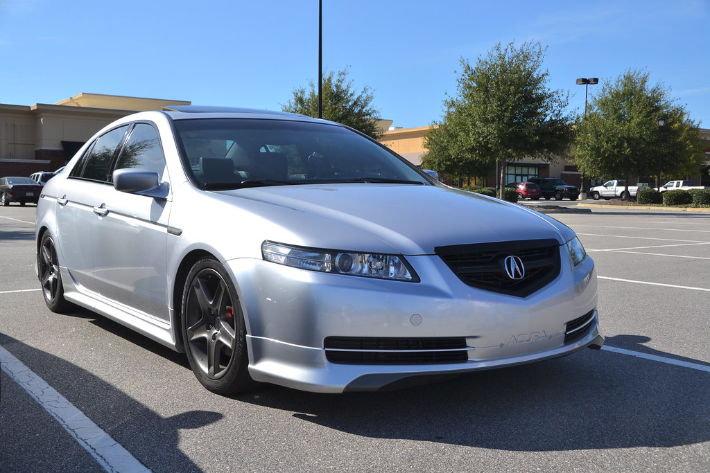Acura TL ASpec Kit Lowered And Cleared Headlights - 2004 acura tl headlight
