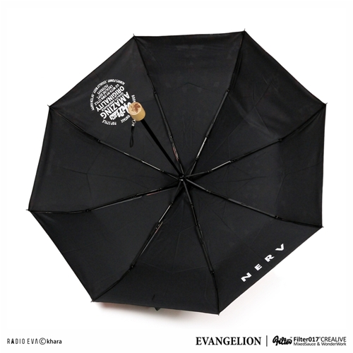 FILTER017 X  EVANGELION - EVA-02 FOLK STYLE FOLDING UMBRELLA | by Filter017