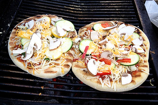Grilled Veggie Pizzas | by lesley zellers
