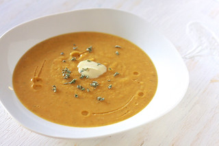 Roasted Butternut Squash Soup 31 | by The Noshery