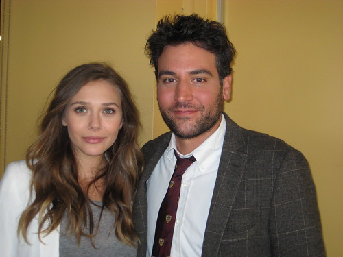 Elizabeth Olsen and Josh Radnor | by wnyc