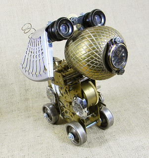 Watchdog - Tock - robot dog assemblage sculpture - Reclaim2Fame | by Reclaim2Fame