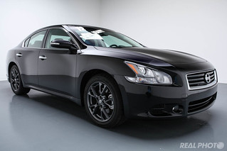 2012 Nissan Maxima Black | by Real Photo Services