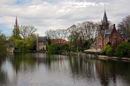 Minnewater - Bruges | by San Francisco Gal