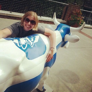 Jaimee found her favorite Bull in Durham - Moo-devil. | by mock-turtle