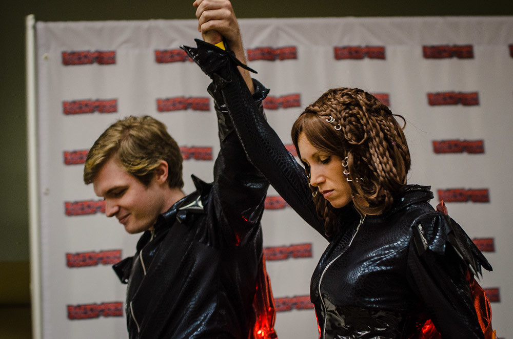 ... Baltimore Comic Con 2012 - Costume Contest Katniss and Peeta in the Group Category |  sc 1 st  Flickr & Baltimore Comic Con 2012 - Costume Contest: Katniss and Peu2026 | Flickr