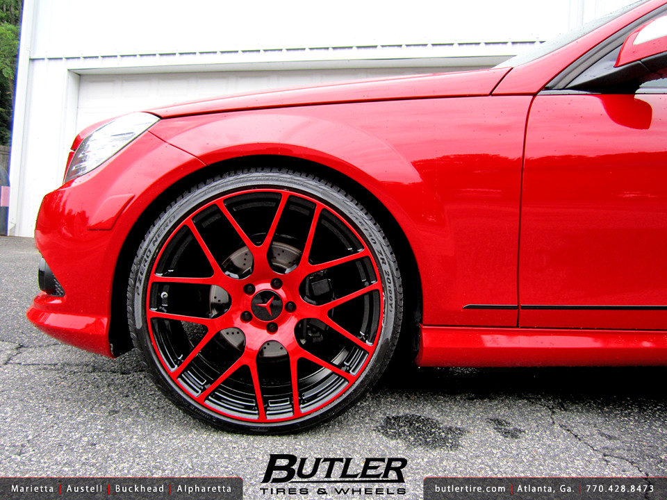 Mercedes benz c300 with 20in tsw nurburgring wheels flickr for Mercedes benz rims c300