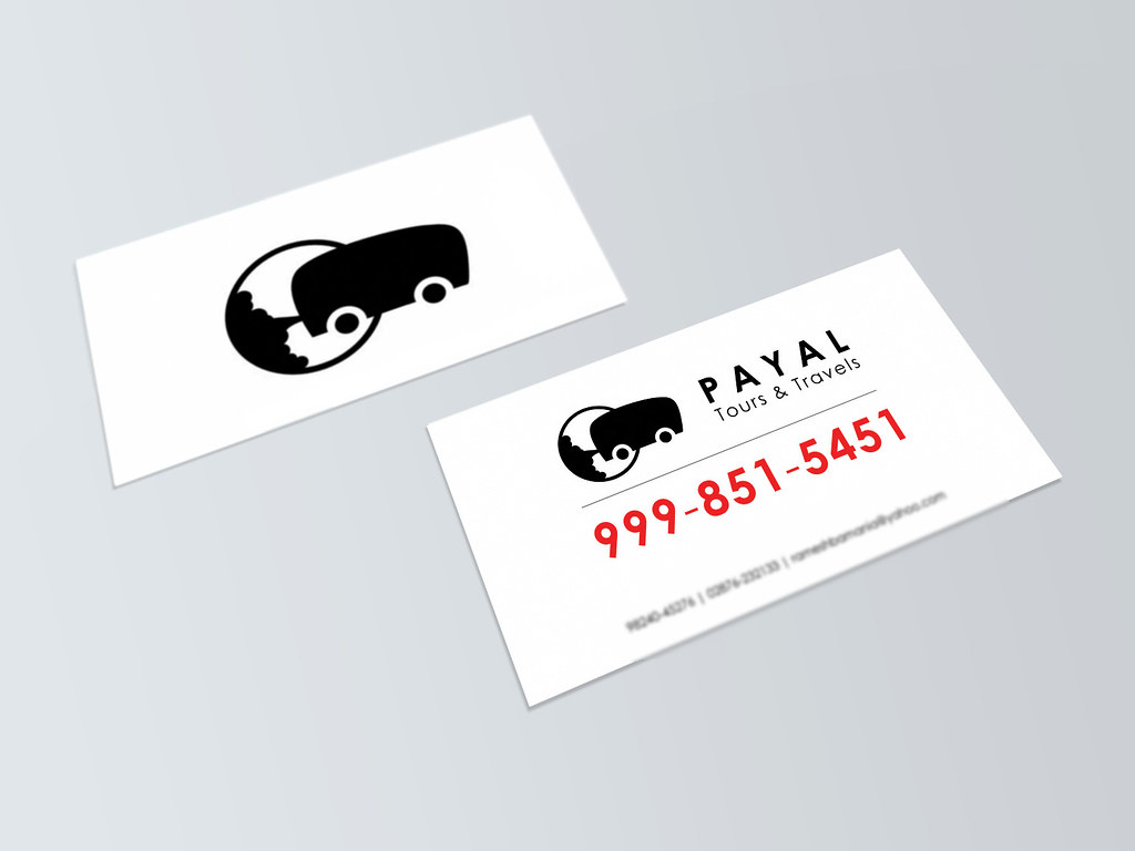 Travel agency logo and business card | Simple but elegant bu… | Flickr
