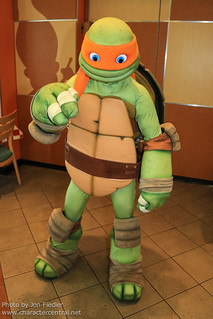 Orlando Sept 2012 - Dinner with the Ninja Turtles | by PeterPanFan