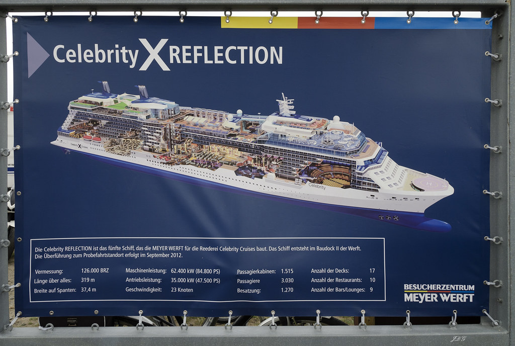 Celebrity Reflection Deck Plans, Diagrams, Pictures, Video