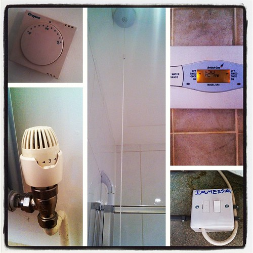 How many ways are there to control the heat/hot water here? TOO DAMN MANY! | by Jen_Watkiss