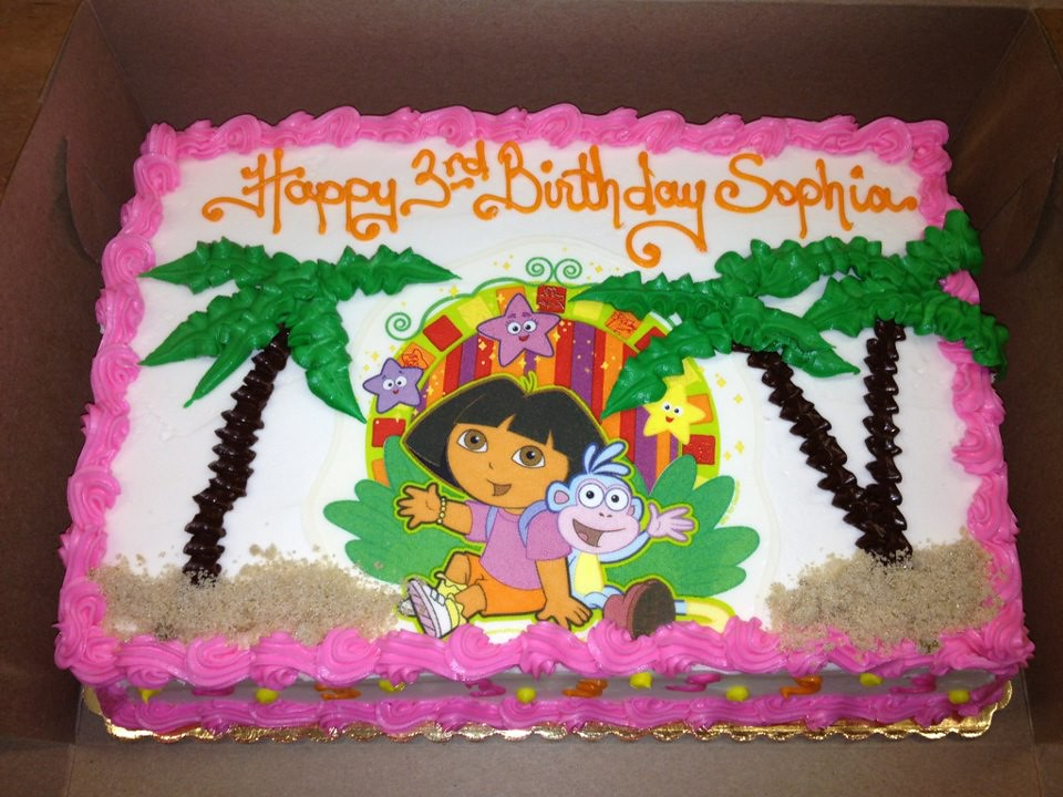 Dora Cake Recipe In English: Stan's Northfield Bakery 330-467-8655