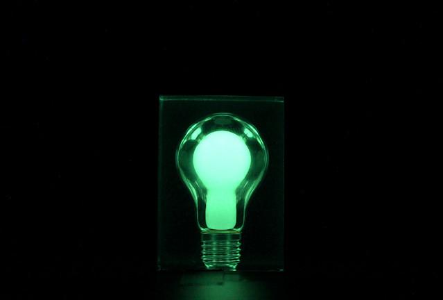 glow in the dark light bulb flickr photo sharing. Black Bedroom Furniture Sets. Home Design Ideas