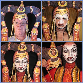 Queen Amidala, step by step. By James Kuhn. | by hawhawjames