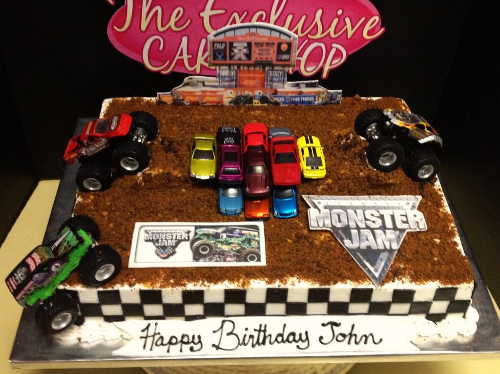 Monster Jam Cake Exclusive Cake Shop Flickr