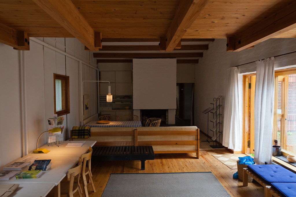 muuratsalo experimental house 14 interior main living