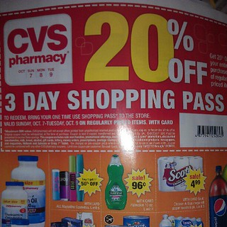 check your newspapers for a cvs 20 off shopping pass goo. Black Bedroom Furniture Sets. Home Design Ideas