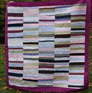 Cool Custom Quilt Made From Clothing | by Mamaka Mills Quilts