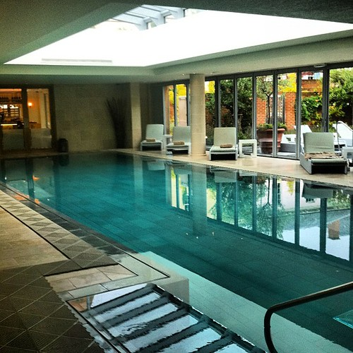 Amazing Spa And Swimming Pool At Lime Wood Hotel New Fore Flickr