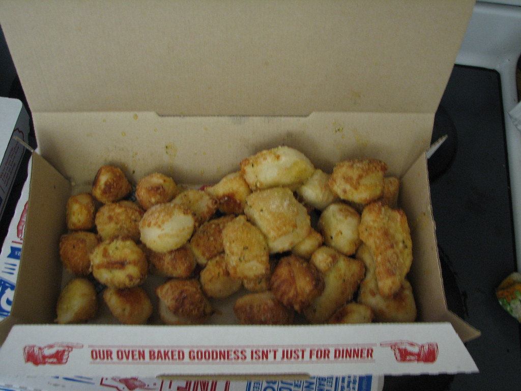 Dominos parmesan bites
