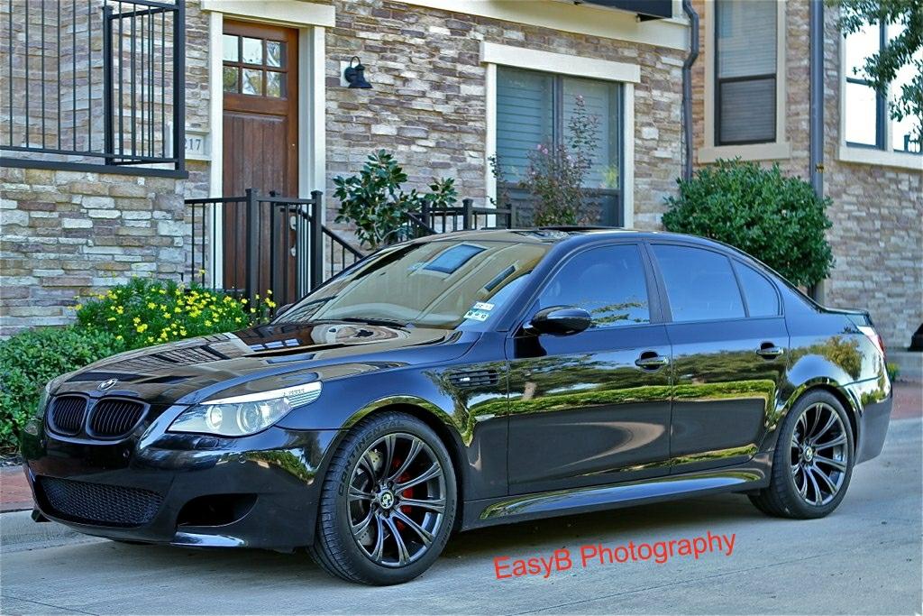 2006 Bmw E60 M5 Black Black With Black Chrome Wheels Flickr