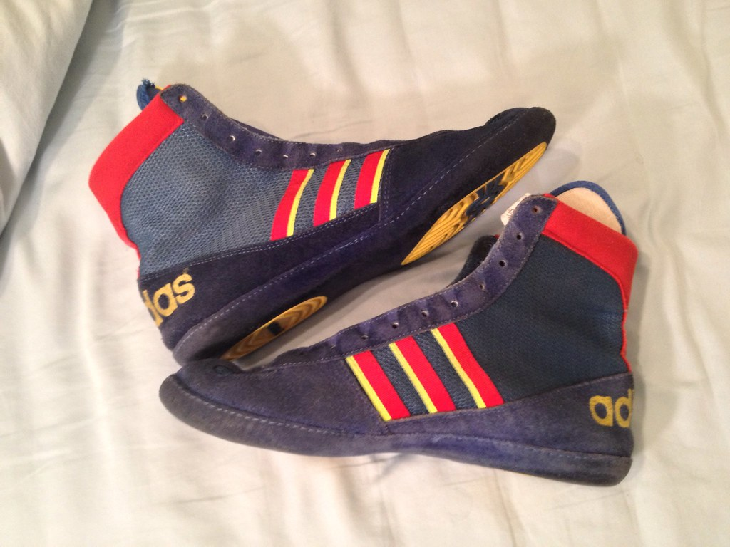 OG German Adidas Combat Speed Wrestling Shoes - GONE | Flickr