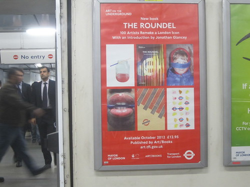 The Roundel Poster at Holborn Tube | by Annie Mole